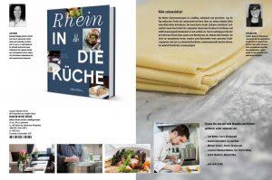 Rhein in die Küche, Kochbuch von Susanne Brandau-Herzet